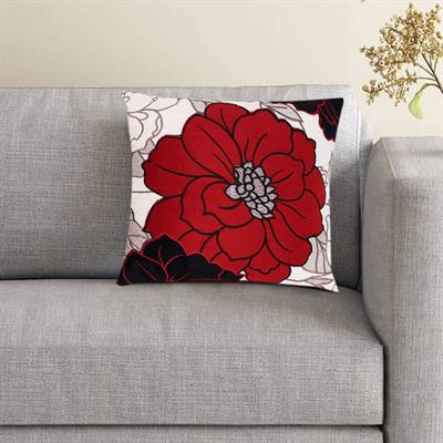 16x16 moshi velvet floral patch work cushion cover 1