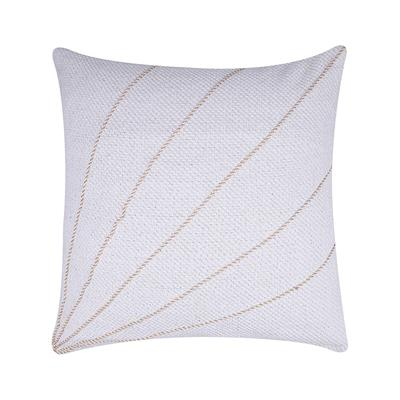 18x18 ivory golden handwoven cushion cover 4