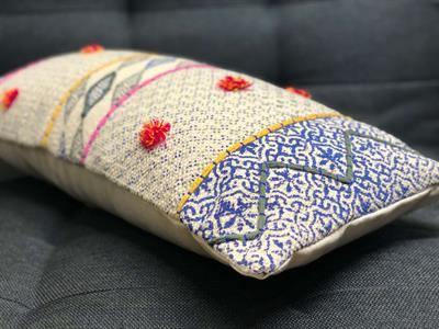 Boho Block Printed Cushion Cover