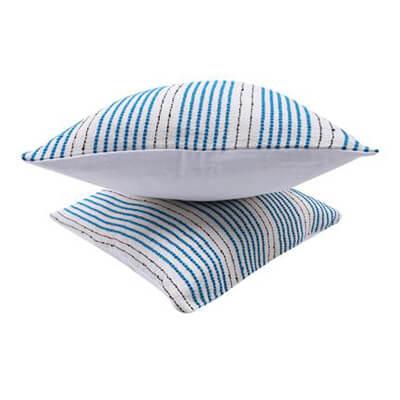 Colorful Stripes Cushion Cover