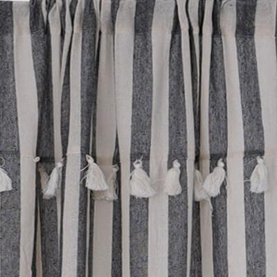 Bohemian Curtains with Tassels