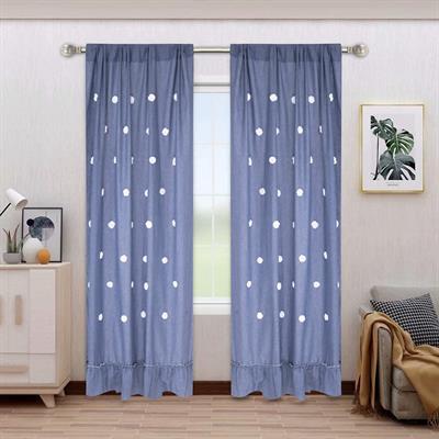 ruffle curtains india