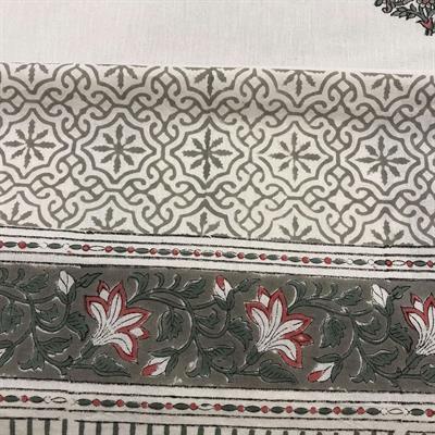 indian handmade cotton bedsheet