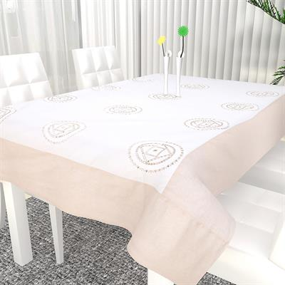 ivory colour table cover