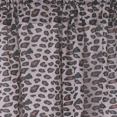 safari print curtains